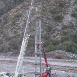 columna electrica mina